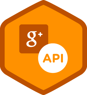 Interacting with Google+ APIs